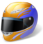 64x64px size png icon of Motorsport Helmet