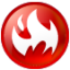 64x64px size png icon of Circle fire