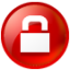 64x64px size png icon of Circle lock