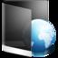 64x64px size png icon of Folder Black Web