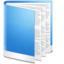 64x64px size png icon of Folder Blue Doc