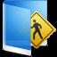 64x64px size png icon of folder blue public