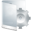64x64px size png icon of folder white system