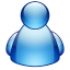 64x64px size png icon of misc buddy blue