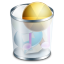 64x64px size png icon of system recyclebin full