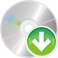 64x64px size png icon of cd down