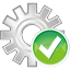 64x64px size png icon of process accept