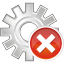 64x64px size png icon of process remove