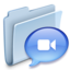 64x64px size png icon of Chats Folder Badged