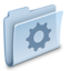 64x64px size png icon of Gear Folder
