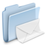 64x64px size png icon of Mail Folder Badged