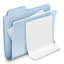 64x64px size png icon of Documents Folder Badged