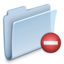 64x64px size png icon of Private Folder Badged