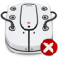 64x64px size png icon of File Server Disconnected
