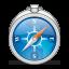 64x64px size png icon of app safari alt