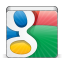 64x64px size png icon of social google