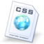 64x64px size png icon of Css