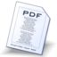 64x64px size png icon of Pdf