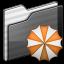 64x64px size png icon of Backup Folder black