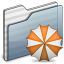 64x64px size png icon of Backup Folder graphite