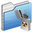 64x64px size png icon of Burnable Folder