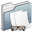 64x64px size png icon of Documents Folder graphite