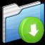 64x64px size png icon of Drop Box Folder
