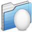 64x64px size png icon of Egg Folder