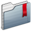 64x64px size png icon of Favorites Folder graphite
