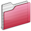 64x64px size png icon of Folder red