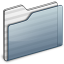 64x64px size png icon of Generic Folder graphite