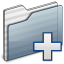 64x64px size png icon of New Folder graphite