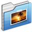 64x64px size png icon of Pictures Folder