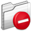 64x64px size png icon of Private Folder white