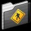 64x64px size png icon of Public Folder black