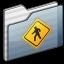 64x64px size png icon of Public Folder graphite