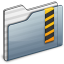 64x64px size png icon of Security Folder graphite