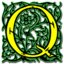64x64px size png icon of Letter q