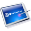 64x64px size png icon of tablet blue