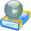 64x64px size png icon of Net drive Offline