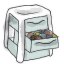 64x64px size png icon of Drawer