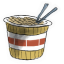64x64px size png icon of Ramen