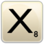 64x64px size png icon of X