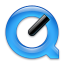 64x64px size png icon of Black quicktime