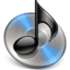 64x64px size png icon of Black iTunes