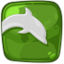 64x64px size png icon of dolphin