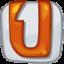 64x64px size png icon of ubuntu one