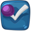 64x64px size png icon of foursquare