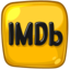 64x64px size png icon of imdb