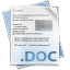 64x64px size png icon of Filetype doc
